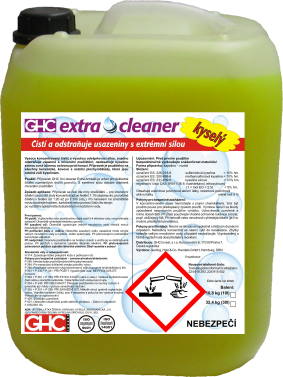 GHC Extra-cleaner kyselý - kanystr 10 L