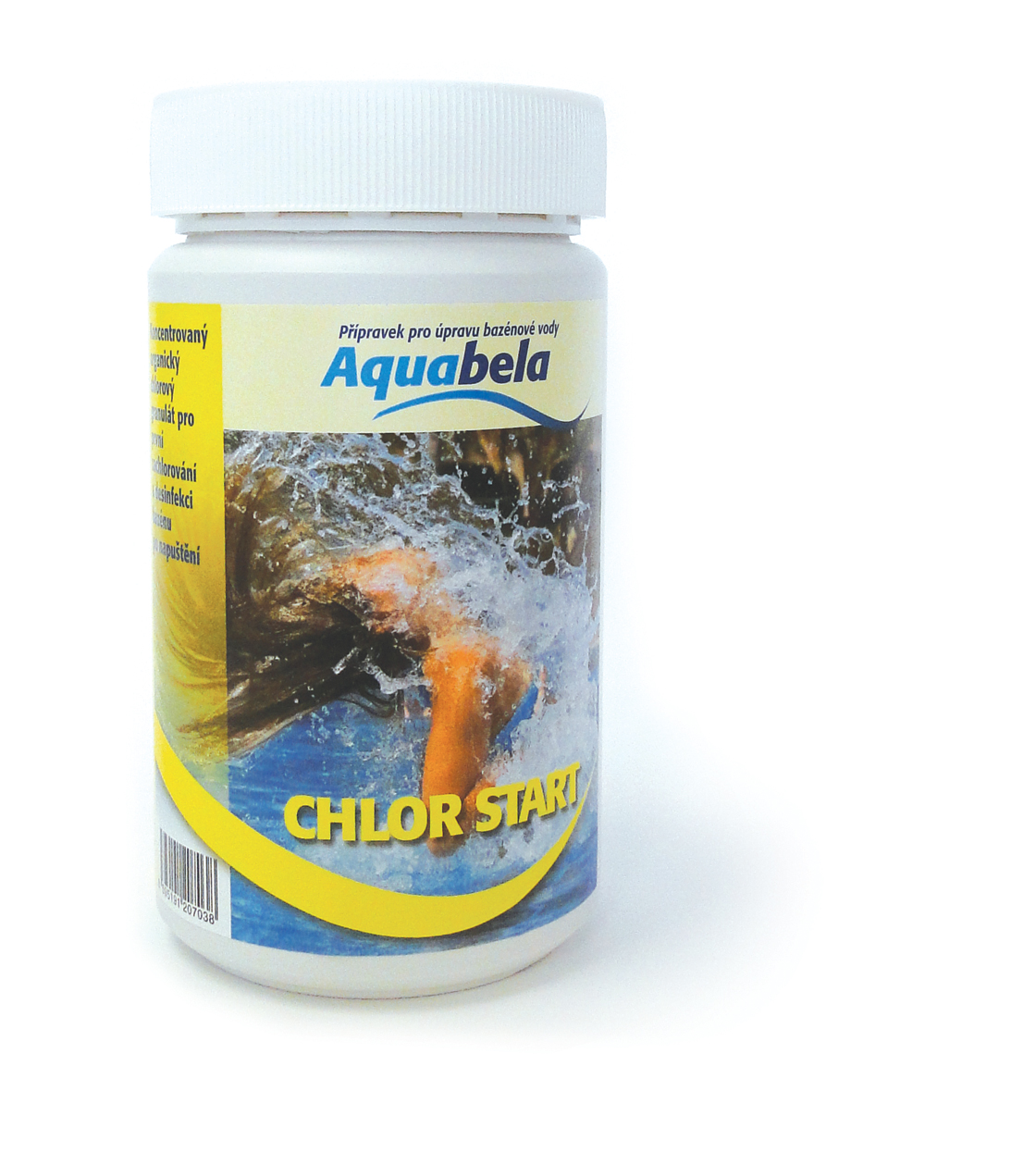 Aquabela Chlor START - dóza 1 kg