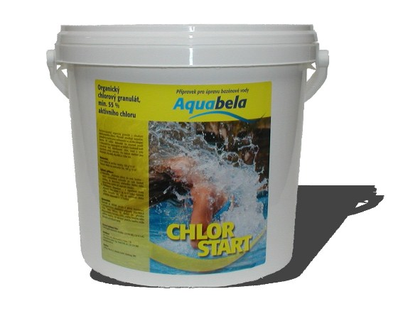 Aquabela Chlor START - kyblík 3 kg