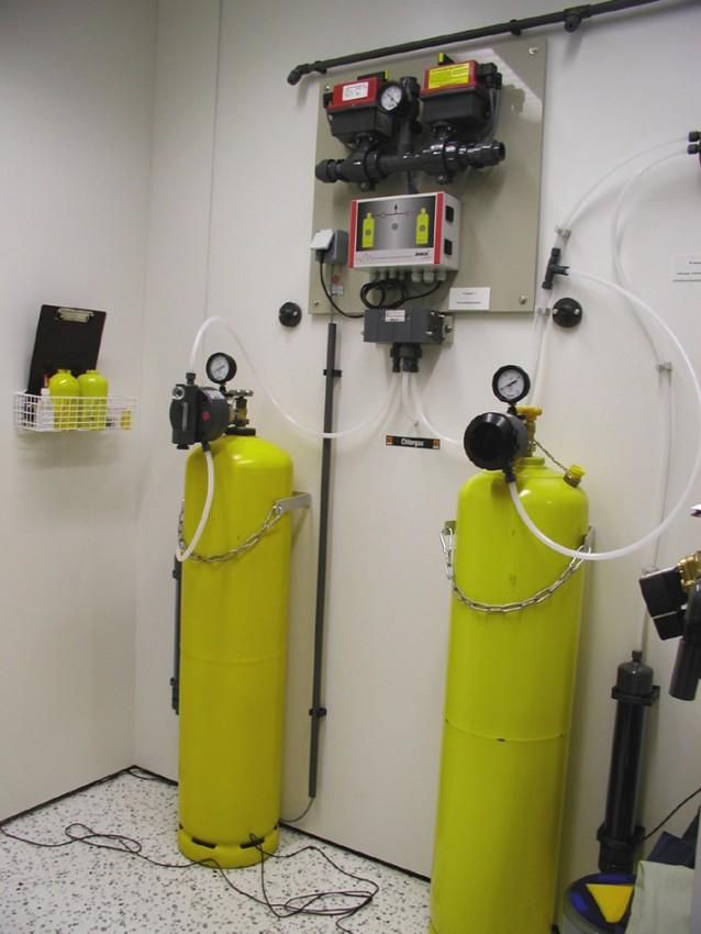 Dávkování chloru do pitné vody